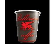 Картонена чаша Bellissimo Coffee - black